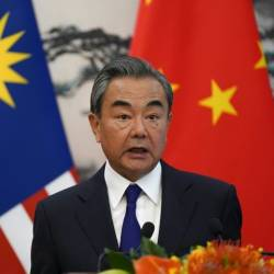 Chinese Foreign Minister Wang Yi said that imposing a list of conditions on North Korea or seeking concessions through maximum pressure would never work. — AFP