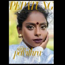 Pavithra was recently featured on the cover of Pepatung magazine.