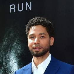 Jussie Smollett, pictured in May 2017, has expressed anger over rumors and speculation reported in the media doubting his account of an alleged attack. — AFP