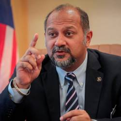Communications and Multimedia Minister Gobind Singh Deo. — Sunpix by Amirul Syafiq Mohd Din