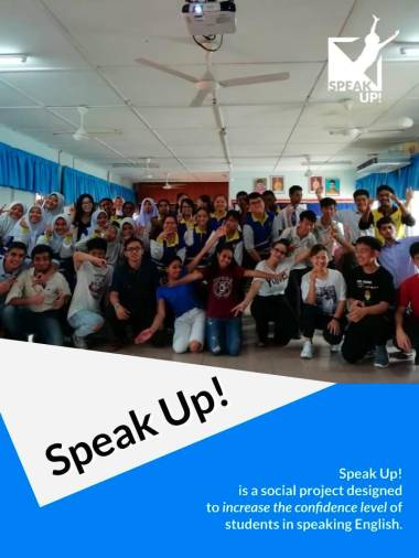 Pictures of past Speak Up! projects