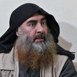 Islamic State group chief Abu Bakr al-Baghdadi. — AFP