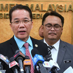 Filepix of Minister in the Prime Minister's Department Datuk Liew Vui Keong at Parliament on Dec 2. — Bernama