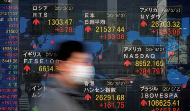 Asian markets build on gains as central banks take action 1