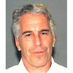 This undated handout file photo obtained on July 08, 2019 courtesy of the Palm Beach County Sheriff's Department shows Jeffrey Epstein. - AFP