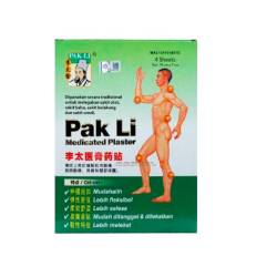 'Pak Li medicated plaster' contains scheduled poison: Health Ministry