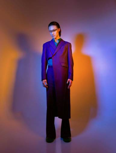 "Dickson Lim Spring/Summer 2021 collection ""Disoriented Identity"". – COURTESY OF DICKSON LIM"