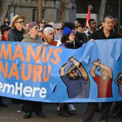The United Nations and human rights groups have roundly condemned Canberra's approach to immigration. — AFP