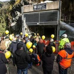 The November 2010 blast at Pike River was one of New Zealand's worst-ever industrial accidents. — AFP