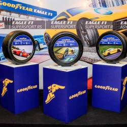 Goodyear Eagle F1 lands in Malaysia