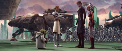Star Wars: The Clone Wars will return for a seventh and final season this February. © Lucasfilm Ltd.