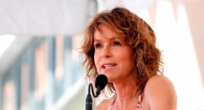 Actor Jennifer Grey speaks before the unveiling of the star for director Kenny Ortega on the Hollywood Walk of Fame in Los Angeles, California, U.S., July 24, 2019. REUTERS/Mario Anzuoni/File Photo
