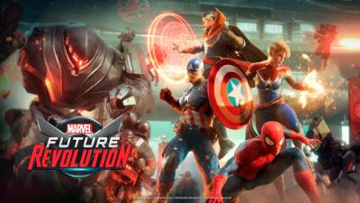 Mobile action game 'Marvel Future Revolution' will feature multiple incarnations of the same characters. © Marvel Entertainment / Netmarble