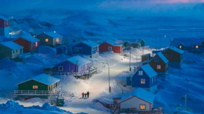 Winter in Greenland by Weimin Chu for National Geographic © National Geographic/Weimin Chu - AFP