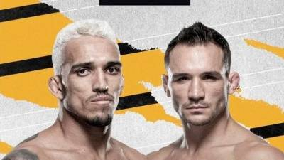 Charles Oliveira claims title with TKO of Michael Chandler at UFC 262