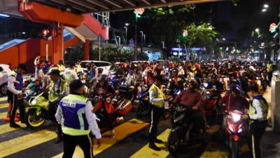 Blacklist errant motorcyclists and suspend licences of repeat offenders.