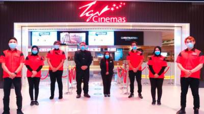 TGV Cinemas announces temporary closure of all locations from 13 January onwards