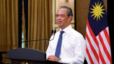 Let's together free Malaysia from Covid-19: PM Muhyiddin