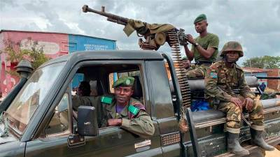 Five killed in rebel attack in restive DR Congo province