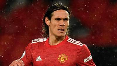Man Utd set for talks with Cavani over striker's future