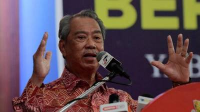 BN win in Chini will send clear signal of confidence in Perikatan Nasional: Muhyiddin