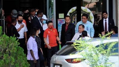 Former Penang Port Commission chairman Jeffrey Chew has been released on bail after being questioned by the MACC in connection with the Penang undersea tunnel project. - Bernama