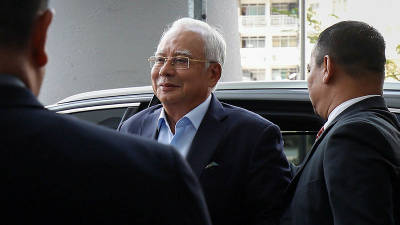 Najib at MACC over 1MDB audit report