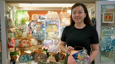 Entrepreneur and bagmaker Joyce Wong reveals the challenges of creating handbags from scratch. – NORMAN HIU/THESUN