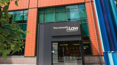 Sign on and specialise in law