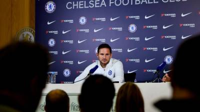 Chelsea manager Frank Lampard during the press conference. — Reuters