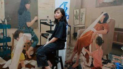 Fadilah graduated with a Master's in Fine Art in 2018 and held her first solo exhibitiom at the age of 25. – PICTURE COURTESY OF FADILAH KARIM