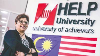 "Vasantha Punniamoorthy: ""Our graduates can now do the CLP, the Malaysian Bar exams and go on to become practising lawyers."" – Adib Rawi Yahya/theSun"