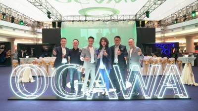 (L-R) Country Head of OGAWA Hong Kong, James Man; Country Head of OGAWA Philippines, Niko Wong; Country Head of OGAWA Vietnam, Tan Teck Meng; Executive Director of OGAWA World Berhad, Lim Mee Ling; Chief Product Officer of OGAWA World Berhad , Steven Wang; Executive Director of OGAWA Singapore, Boyz Lim.