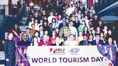 HELP University's World Tourism Day 2019saw a huge turnout with great exchanges of industry ideas.