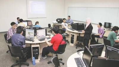 Students undergo experiential learning at the ICT lab and gain technical skills in digital marketing at BTVET College.