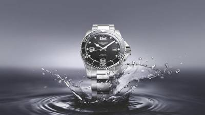 Win a watch from the Longines HydroConquest collection!