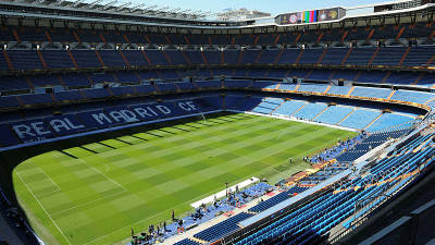 Filepix of the Santiago Bernabeu.