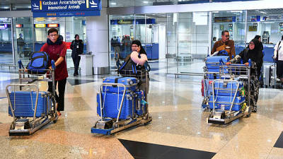 Smooth check-in at KLIA after three-day disruption