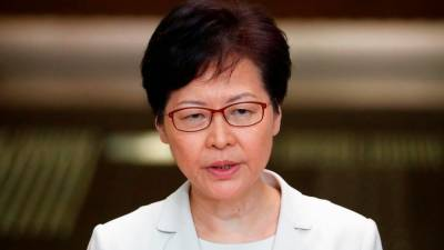 US freezes assets of Hong Kong leader Carrie Lam