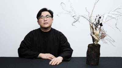 Former graphic designer Tan became a florist as he craved for a more tactile approach to art. – COURTESY OF JOSHUA TAN
