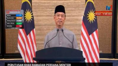 Muhyiddin: MCO extended by 2 weeks, may be extended even further (Updated)