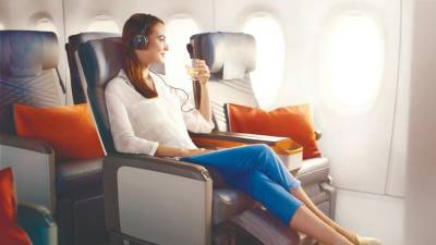 Fly in style with Singapore Airlines