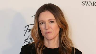 Givenchy's artistic director Clare Waight Keller received the British designer of the year womenswear award. — AFP