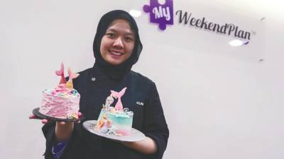 Azlina Tan, the instructor at the MyWeekendPlan. - AMIRUL SYAFIQ/THESUN