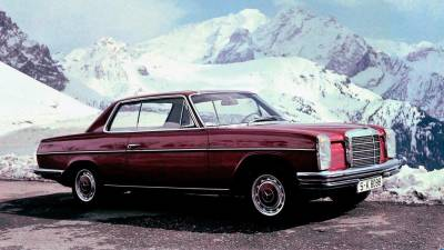 Mercedes-Benz 'Stroke 8' coupe from model series W114.