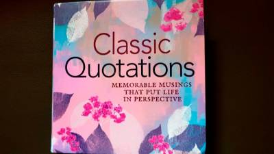 Book review: Classic Quotations: Memorable Musings that Put Life in Perspective