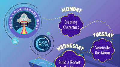 Kids get to enjoy offscreen fun with Netflix's Build Your Dreams Week