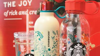 Get festive with Starbucks offerings