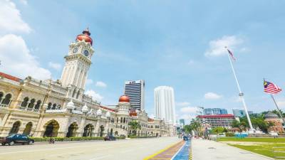 Dataran Merdeka is the centrepoint for much of Kuala Lumpur's history. – Stock Image