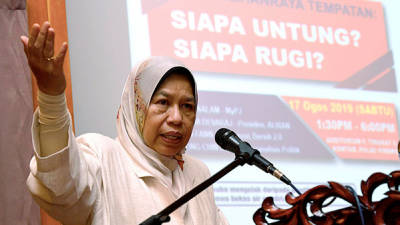 Zuraida defends proposal to sell high-end properties to foreigners